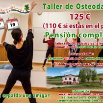 Taller de Osteodanza: ¿Es tu espalda una amiga? Del 17 al 19 de octubre. Burgos